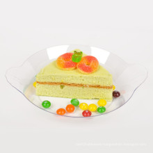 Tableware Plastic Disk Disposable Saucer Oval Tray
