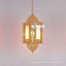 Grandes lámparas marroquíes decoración de la boda