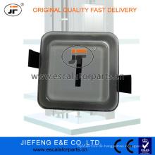 JFOtis BS34C Etage 1 2 3 4 5 Aufzugsknopf (weiß)