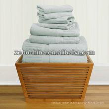 Alta qualidade de cores diferentes disponíveis toalha de viagem ao ar livre de algodão ao ar livre