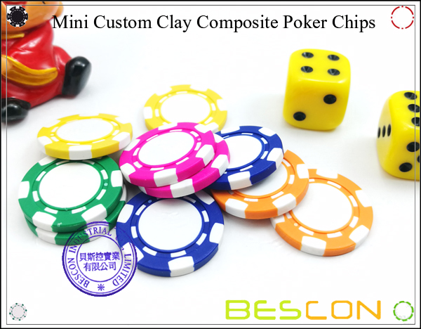 Bescon New Style Clay Chip with Custom Sticker-16