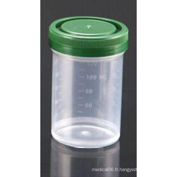 Conteneurs d'échantillons d'histologie de 120 ml enregistrés par la FDA