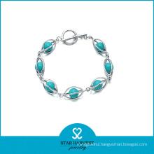 New Designed 925 Sterling Silver Beads Bracelet (B-0003)