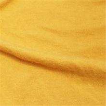 Weiches Gefühl gelber Kaschmir-Strickstoffimitation