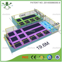 Safety Jump Large Trampoline Park with Enclosure