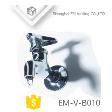 EM-V-B010 Chromed polishing wall mount water sink brass bibcock