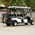 Tipo elétrico carro do combustível de EXCAR 48V 4 Seater de golfe, carro do carrinho de golfe da bateria Trojan para venda