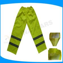 Pantalon de travail étanche à l'eau de classe E haute visibilité
