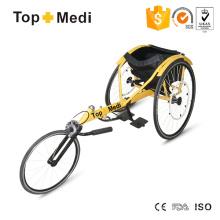 Silla de ruedas deportiva de carreras manual de aluminio Topmedi
