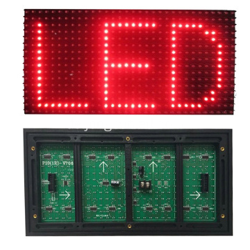 SMD Outdoor P10 rotes LED-Anzeigemodul