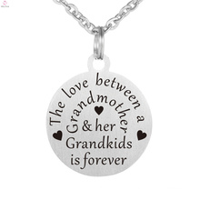 Personalized Photo Custom Charm Letter Alphabet Stamp Engraved Pendant Necklace