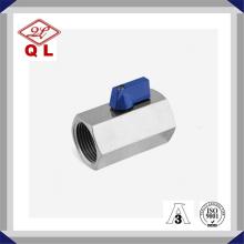 CF8m Ss316 Acier inoxydable Male Female Mini Ball Valve Dn50