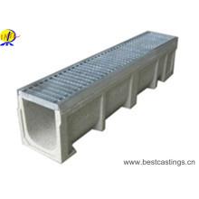 Canal de drainage de pluie en béton polymère à haute charge