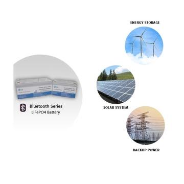 Batería Solar Inteligente con Bluetooth 12V 100Ah