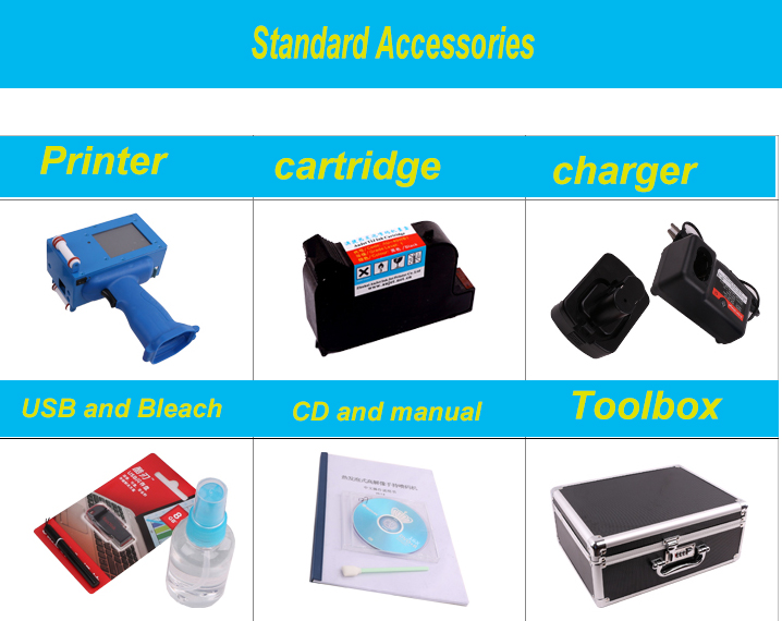 HAE-127 Inkjet coder accessories