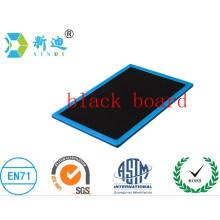 Double-sided magnetic blackboard plastic frame the blackboard