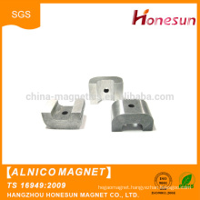Hot sales High quality Alnico Pot Magnet with Screw Hole in Center