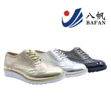 2016 novas mulheres moda plana conforto popular casual shoes (bf-612)