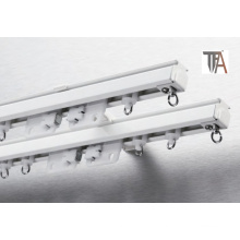 Aluminium Single or Double Curtain Rod for Home Decoration