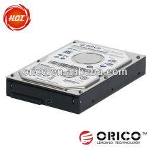 """ORICO 1025US 2.5 """"HDD Mobile Rack, unidade de disco rígido Gabinete externo, 3,5"""" a 2,5 polegadas Converter Case"""
