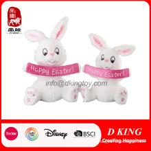 Festival de regalo relleno suave conejo Pascua felpa juguete conejo
