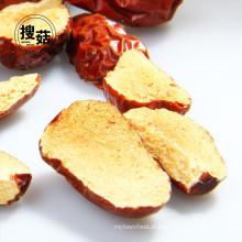 Jujuba chinesa orgânica / fatia de jujuba seca