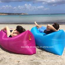 Outdoor Fast Inflatable Bed Air Sleep Sofa Lounge, Outdoor Couch Furniture Sleeping Inflatable Lounge Air Bag Hangout Bag