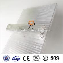 100% a prueba de fugas 600 mm / 1040 mm de ancho u-lock policarbonato (PC) hoja