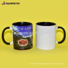 high quality 11OZ ceramic mug for sublimation printing/ white ceramic mug for promotion gift