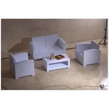 PE Material Plastic Patio Sofa