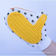 Dog Slicker Brush Of Pet Shower Bamboo Dog Brush Glove Dog Brushes For Shedding