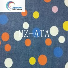 100% хлопок пятно печати джинсовой ткани для детской одежды