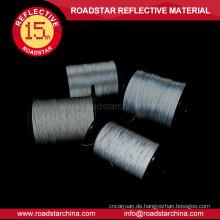 1,5 mm breite einzelne Seiten reflektierende Thread zum Stricken