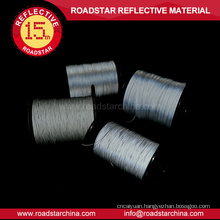 1.5mm width single sided reflective thread for knitting