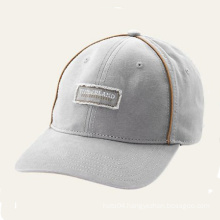 Wool 6 Panel Short Brim Baseball Cap
