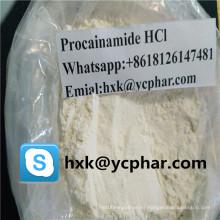 Procainamide HCl Hydrochloride CAS 614-39-1 Anestésicos locales Alivio del dolor