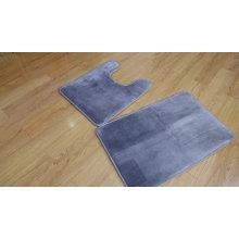 non-slip polyester microfiber memory foam bath mat