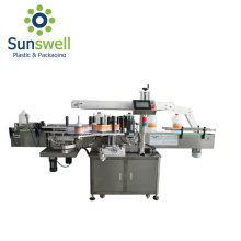 Máquina etiquetadora de tipo lineal automática autoadhesiva