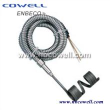 Banda eléctrica de calentador de resorte de latón con alto rendimiento