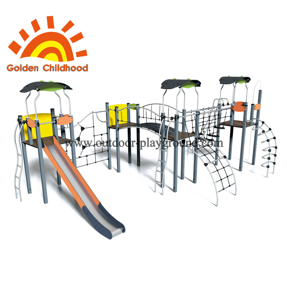Play equipment residential area outdoor playground