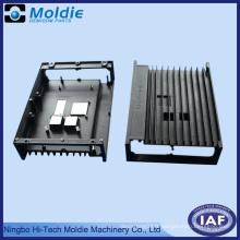 Boîtier électrique en fonte d'aluminium noir