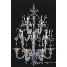 Decorative Hotel Projects Glass Pendant Light (90018-4+3+2)