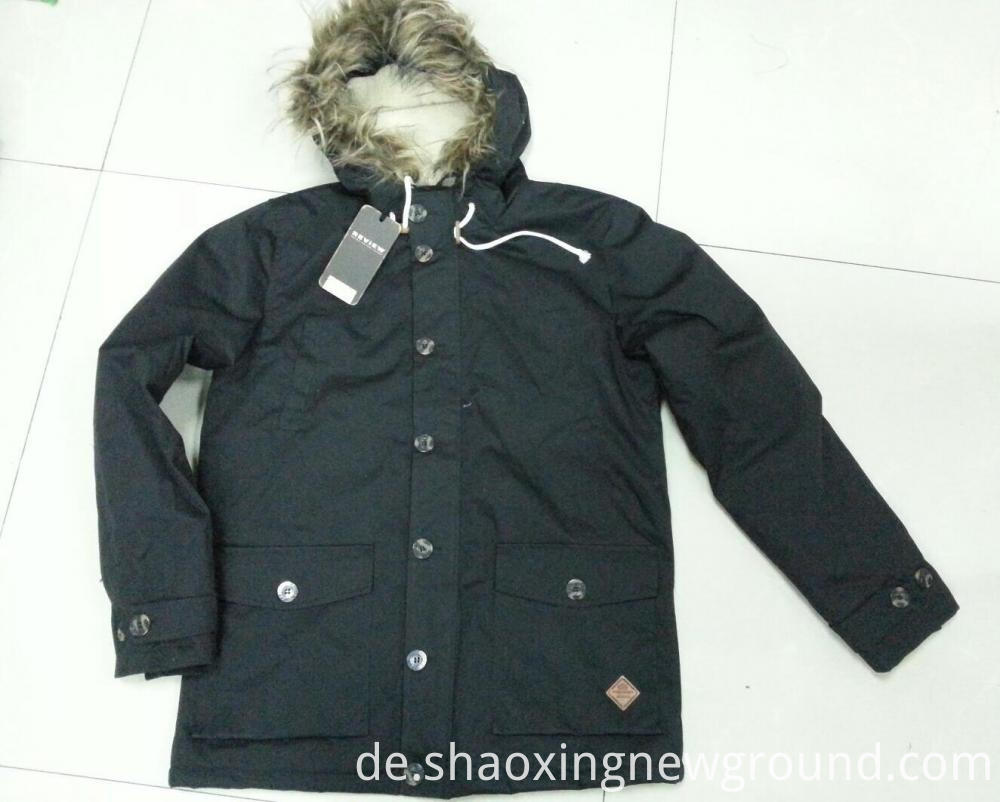 Windproof Mens Down Jacket