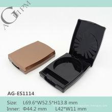Con encanto especial forma Rectangular sombra caso AG-ES1114, empaquetado cosmético de AGPM, colores/insignia de encargo
