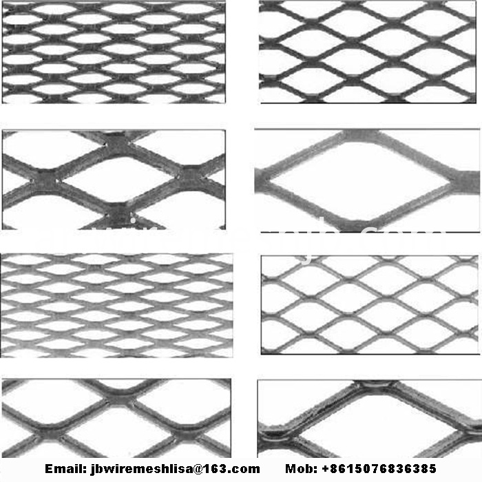 Galvanized Expaded Metal Mesh