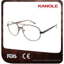 Новый дешевый экономической базовой линии человека металлические оправы металл очки
