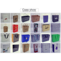 Fashion Element Polka Dot And Stripe Style Women's Wear Packing Shopping Paper Bag customize fashion paper bag with handle