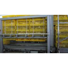 Crates stacker & Destacker machine