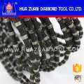 Nuevo hilo diamantado de caucho negro para cantera