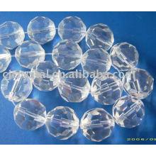 Perles de rondelle à cristaux AAA